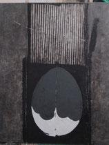 Sospensione ovale 2002-120x100/tela