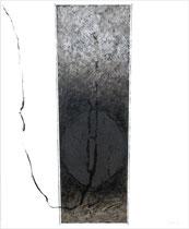 Virtù ovale 2001 - 120x100-smalti-acril/tela
