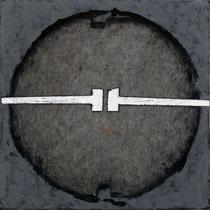 Tondo #XXVIII 2011-60x60/tela