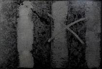 Terre 1999-82,5x122/Terre-acril-smalti/tela