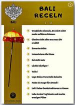 Bali Regeln  1