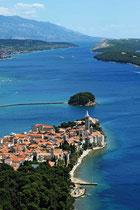 Insel Rab in Kroatien