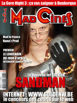 Fausse couverture de Mad Movies