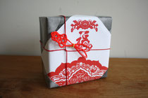 Chinese New Year gift Mizuhiki wrapping