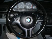 BMW Leder Lenkrad Einfärbung (Nachher)