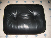 Eames Lounge Chair Lederreparatur (Nachher)
