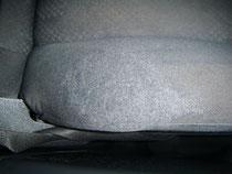 Autositz Stoff Reparatur (Nachher)