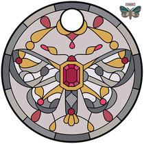 stone relief moth