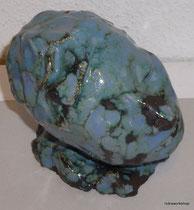 Noblesse oblige ceramic glazed