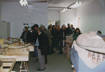 Am Eröffnungstag wurde eine kleine Ausstellung abgehalten