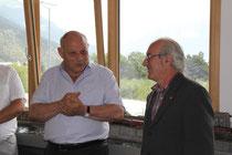 Der Landeshauptmann lobt Präsidenten Heinz Unterholzer sowie die Mitglieder für die vollbrachten Tätigkeiten