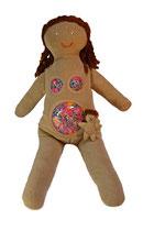 Celina mit Bebe Hippybottomus Suisse Pädagogisches Spielzeug