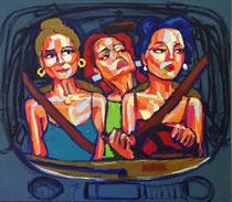 *Robson Reismarques, Nr. 1, no title, 2017, acrylic on canvas, 160 x 140 cm, Preis auf Anfrage