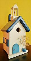 Houten Nestkastje, Nestkastje met klokkentoren, Details, Vogelhuisje bouwen ,  vogelhuisje met klokkentoren_4