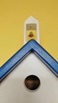 Houten Nestkastje, Nestkastje met klokkentoren, Details, Vogelhuisje bouwen ,  vogelhuisje met klokkentoren_1