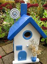 Houten Nestkastje , Grieks Nestkastje met Schotel , Details, Vogelhuisje bouwen ,  Grieks vogelhuisje met schotel , Huisjes details