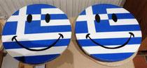 houten smiley Grieks_1