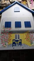 houten brievenbus motief hotel Samos_5