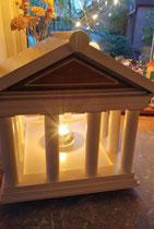 houten voederhuisje sfeerlicht Grieks vogelvoederhuis Acropolis_6