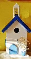 Houten Nestkastje, Nestkastje met klokkentoren, Details, Vogelhuisje bouwen ,  vogelhuisje met klokkentoren_3