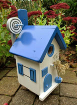 Houten Nestkastje , Grieks Nestkastje met Schotel , Details, Vogelhuisje bouwen ,  Grieks vogelhuisje met schotel , Huisjes details_1