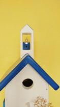 Houten Nestkastje, Grieks Nestkastje met Klokkentoren, Details, Vogelhuisje bouwen ,  Grieks vogelhuisje met klokkentoren, Huisjes details_2
