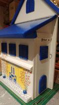 houten brievenbus motief hotel Samos_3