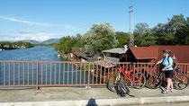 am Grenzfluß - Bojana- zw. Montenegro und Albanien