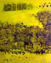 Öl auf Leinwand, 200 x 180cm, Berlin 2010