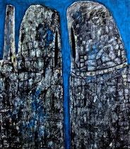 Ibrahim Coskun, Öl auf Leinwand 200 x 180cm, Berlin 2012