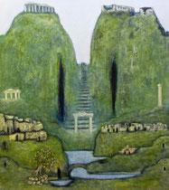 Öl auf Leinwand, 200 x 180cm, Berlin 2001