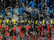 Ibrahim Coskun, Öl auf Leinwand, 180 x 150cm, Berlin 2010