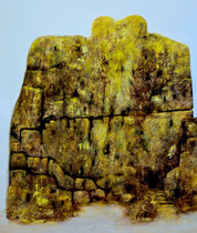 Öl auf Leinwand, 180 x 160cm, Berlin 2001