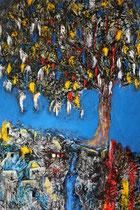 Ibrahim Coskun, Öl auf Leinwand, 200 x 160cm, Berlin 2012