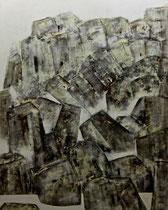 Ibrahim Coskun, Öl auf Leinwand, 200 x 180cm, Berlin 2010