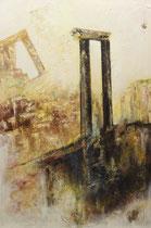 Öl auf Leinwand, 200 x 130cm, Bielefeld 2000