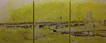 Öl auf Leinwand, 300 x 120cm, Berlin 2005