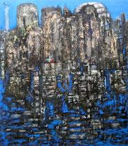 Ibrahim Coskun, Öl auf Leinwand, 180 x 150cm, Berlin 2011
