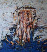 Öl auf Leinwand, 180 x 200cm, Bielefeld 1998