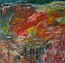 Öl auf Leinwand, 155 x 150cm, Bielefeld 1998