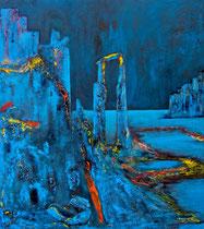 Öl auf Leinwand, 200 x 180cm, Berlin 2002