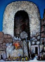 Ibrahim Coskun, Öl auf Leinwand, 200 x 160cm, Berlin 2008
