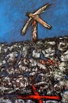 Ibrahim Coskun, Öl auf Leinwand, 140 x 100cm, Berlin 2013