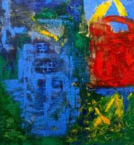 Öl auf Leinwand, 130 x 110cm, Berlin 2003