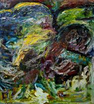 Öl auf Leinwand, 140 x 160cm, Bielefeld 1997