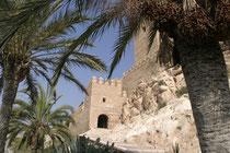 Die Alcazaba von Almeria