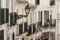 Altstadtfassaden in Antequera