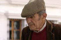 Älterer Herr in Zahara de la Sierra