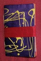 """MiniLibro d' Artista """"Filastrocche e tiritere da toccare e da vedere"""" pittura action painting e filastrocche"""