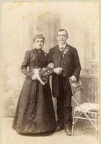 Emil und Emma Nüesch, verh. 1906
